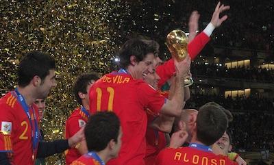 Spanje WK Winnaar