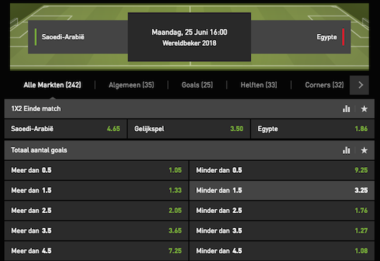 gokken egypte saudi