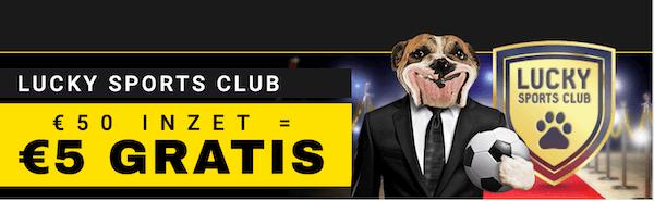 sports club Betfirst - wekelijkse promo