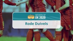 belgische ploeg EK 2020