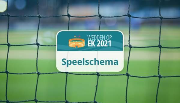 EURO 2021 speelschema