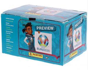 Panini 100 hoezen stickers EURO 2020 preview
