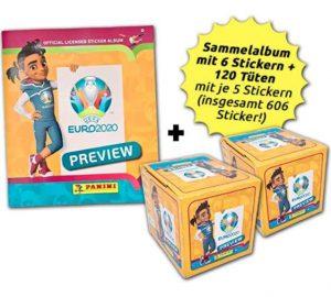 panini collector's bundle UEFA EURO2020 preview