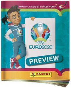 panini euro 2020 sticker album preview