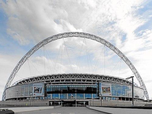 Wembley stadion in Londen