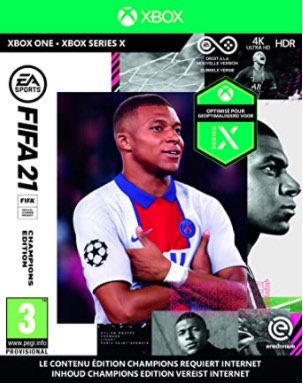 FIFA world ranking 21 for XBox One