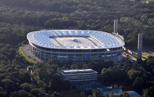 deutsche bank park frankfurt stadion